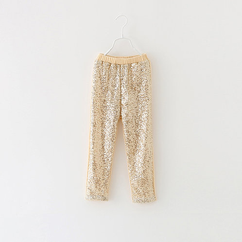 Brooke Gold Sequin Leggings