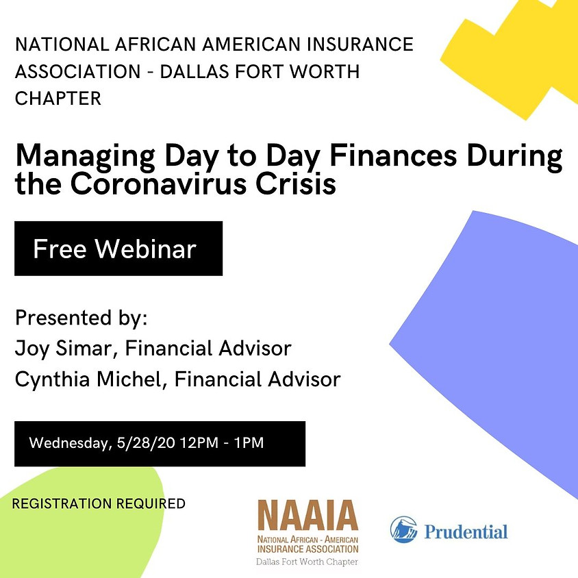 Managing Day-to-day Finances During the Coronavirus Crisis