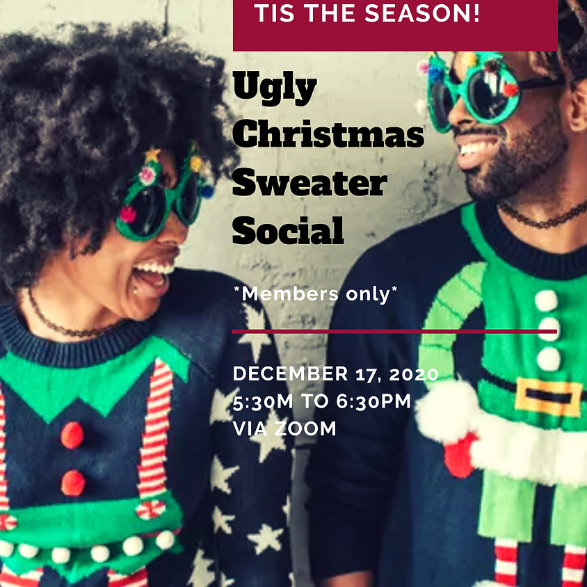 Ugly Christmas Sweater Social