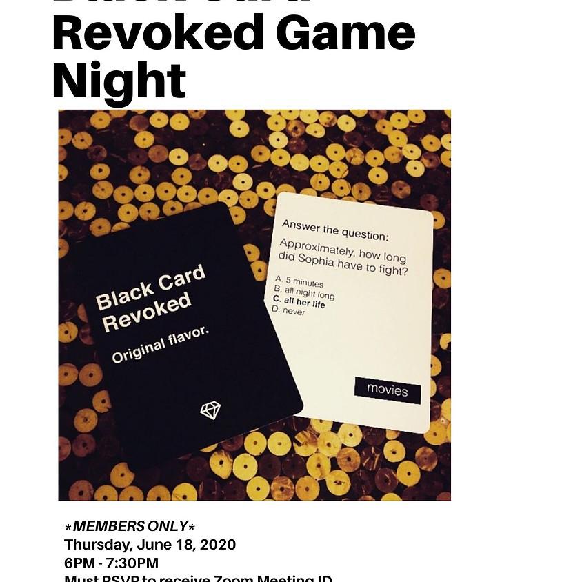 Black Card Revoked Game Night