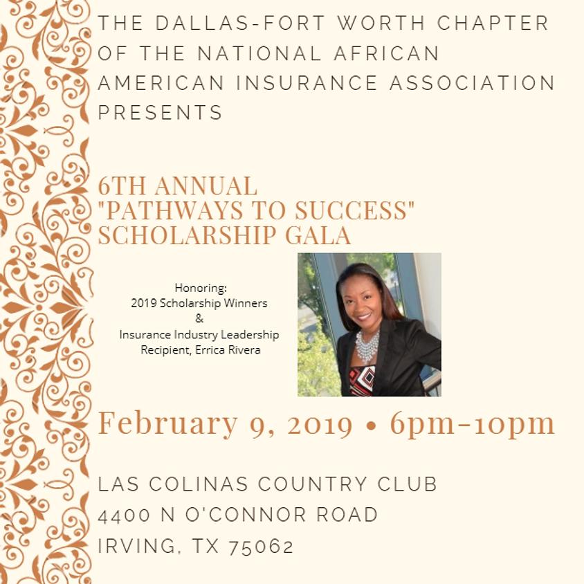 "NAAIA DFW 6th Annual ""Pathways to Success"" Scholarship Gala"