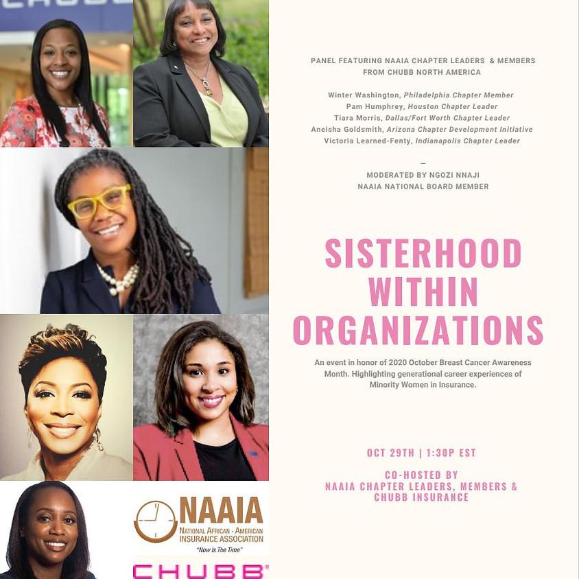 NAAIA Sisterhood within Organizations