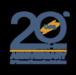 USG 20th Anniversary Logo