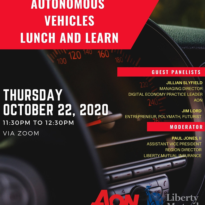 Autonomous Vehicles Lunch and Learn