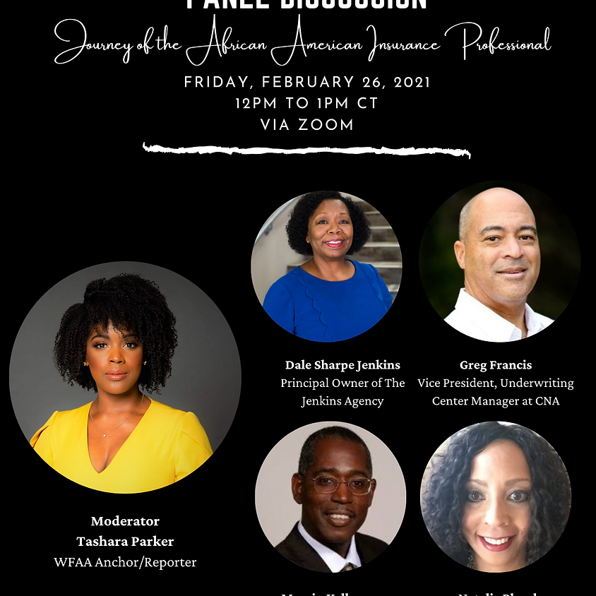 Black History & Insurance Careers Month Panel Discussion