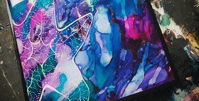 Original Painting: Tidal