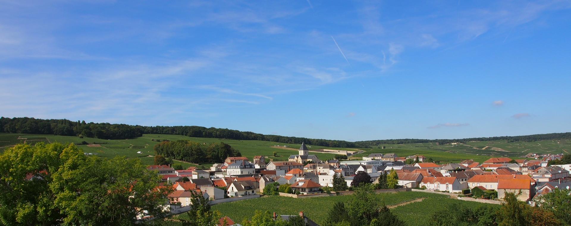 Village of le Mesnil sur Oger