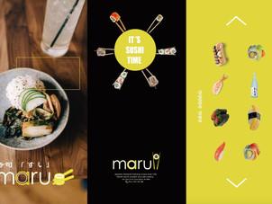 Maru Sushi Menu