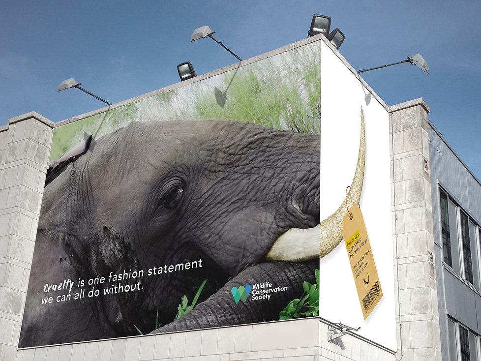 Elephant outdoor Ad