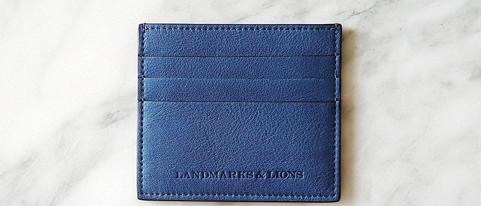 LANDMARKS & LIONS // Oceania tall slim card case