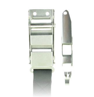 Latch Type Buckle w/ 4 1/2'' Pull Release Strap
