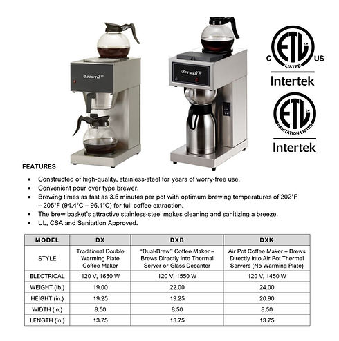 DX Pour-Over Brewing Series