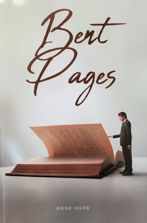 New Website Designed for Author of Bent Pages