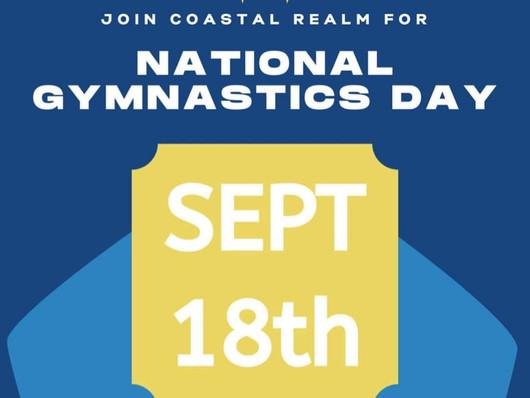 Celebrate National Gymnastics Day at CRG