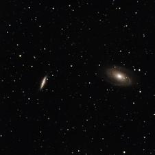 Bode's Nebula and the Cigar Galaxy