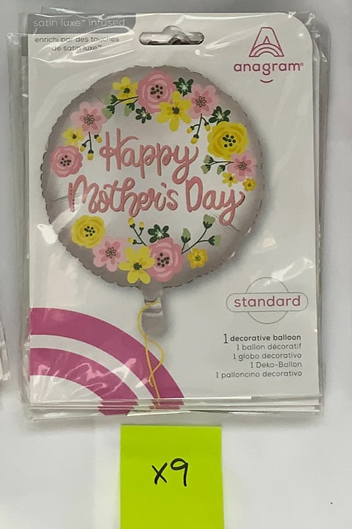 Mother's Day Foil Floral