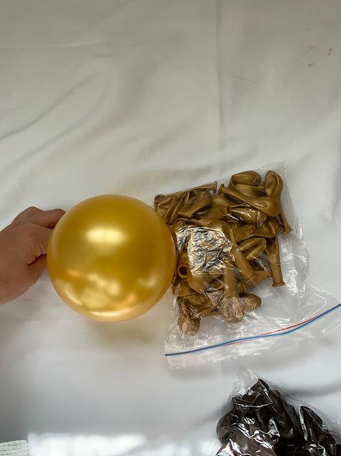 "5"" Latex GOLD"