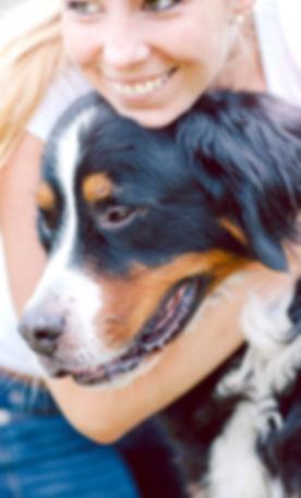 Paralimni Dog Pound Woman Hugging Dog
