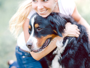 Can you give your dog to much love?