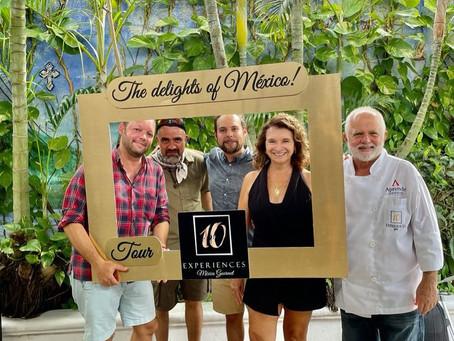 Destacamos en el portal FOOD AND TRAVEL como experiencia imperdible en la Isla de Cozumel