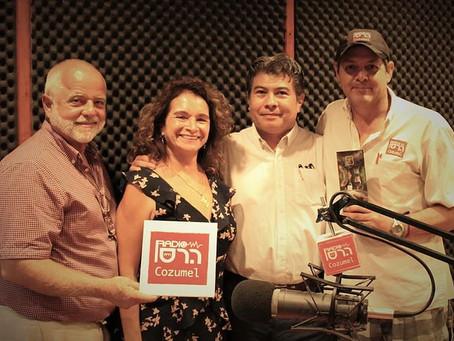 10 Experiences Tour en el programa de radio de Alex Olea 107.7 Cozumel