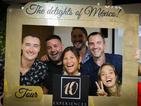 Bloggers visit 10 Experiences Tour