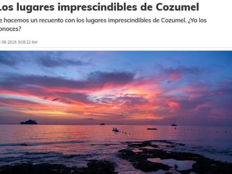 Los lugares imprescindibles de Cozumel por México Desconocido, ¡Estamos en la Lista!