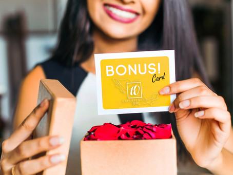 Bonus Card 10 Experiences