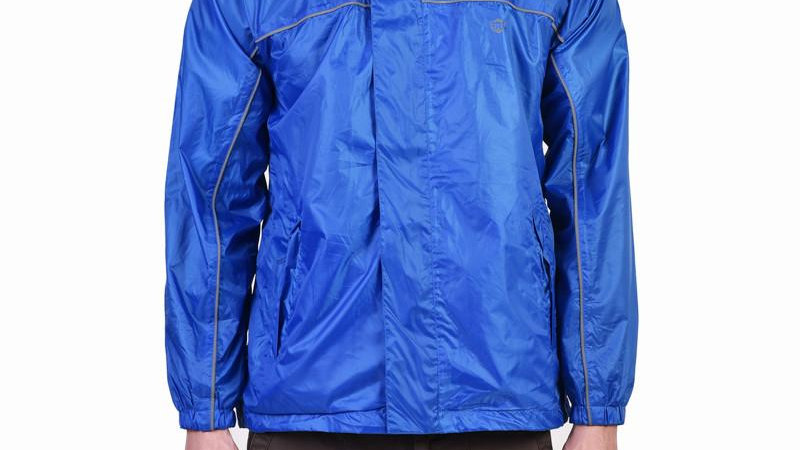 Royal Enfield Rain Jacket (Blue)