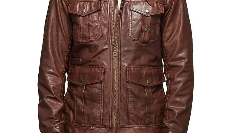 Royal Enfield M/WD Aviator Classic Aviator Jacket Brown