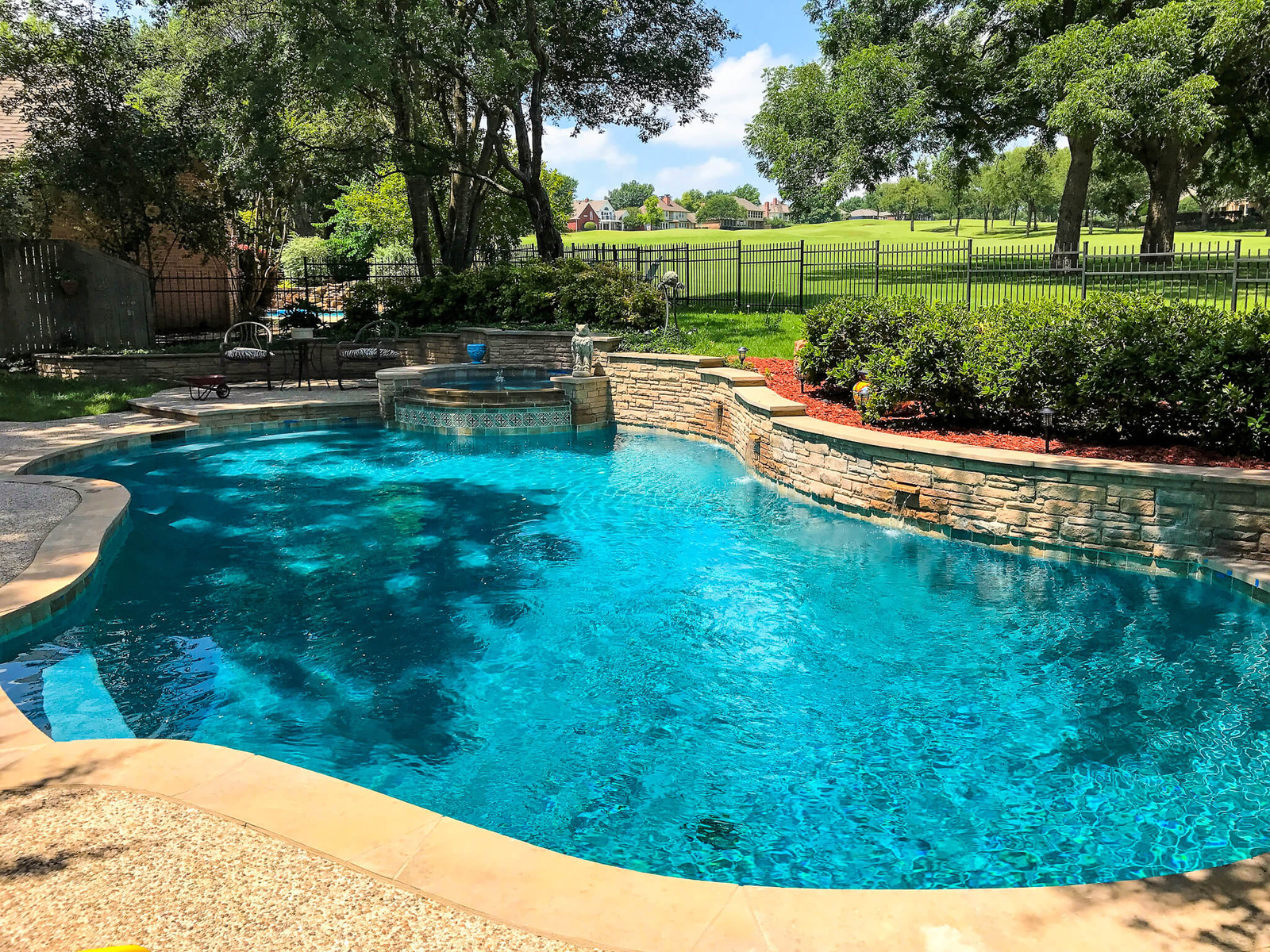 Peaceful And Pure Pool