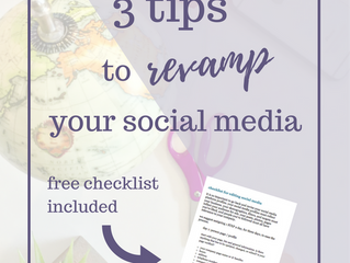 3 Tips to Revamp Your Social Media