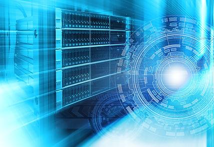 futuristic techno design on background o