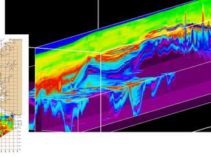 Depth Conversion Velocity South-North North Sea delivered