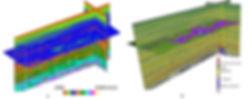 Geohazard prediction, overpressure, lithology
