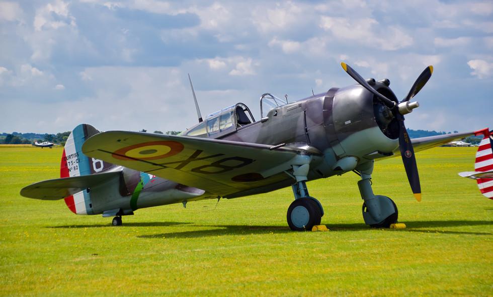 Curtiss-Wright Hawk 75 G-CCVH Flying Legends (9423)