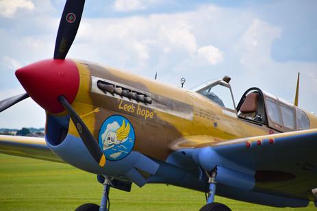 Curtiss-Wright Warhawk P40F G-CGZP (9544)