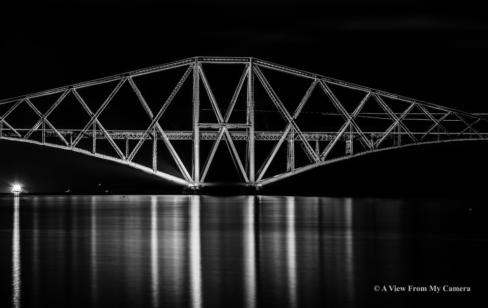 """Forth """"Rail"""" Bridge, Port Edgar (5262a)"""
