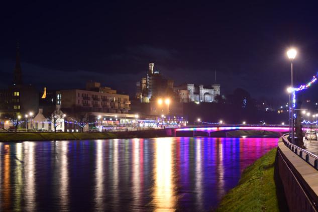 Inverness Castle and Bridge, Inverness (2359)