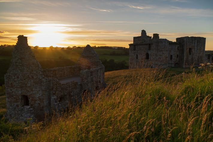 Crichton Castle Sunset_0611