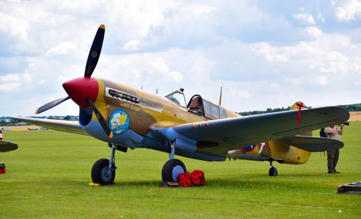 Curtiss-Wright Warhawk P40F G-CGZP (9543)