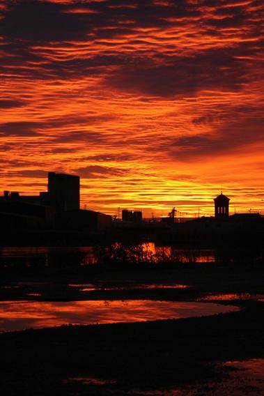 Leith Docks Sunrise
