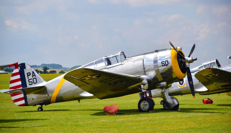 Curtiss-Wright P-36C G-CIXJ PA50 (9424)