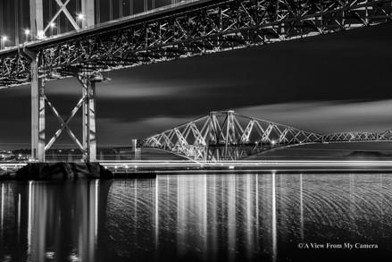 "Forth ""Rail"" Bridge, Port Edgar (5253b)"