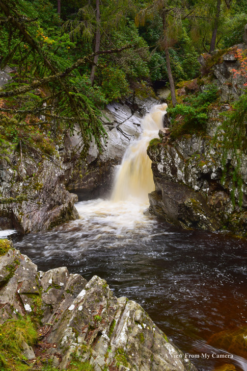 Lower Falls, Falls of Bruar (2107)
