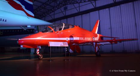 Red Arrows Hawk XX308 (1972)