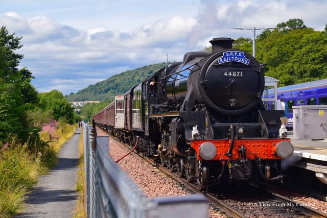 SRPS Railtours, BlackFive 44871 (8252)