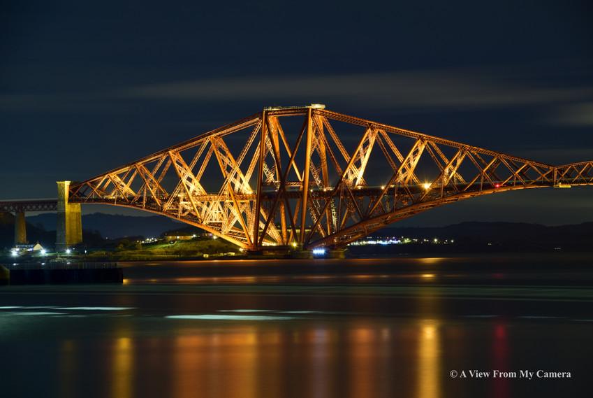 """Forth """"Rail"""" Bridge, Port Edgar (5267a)"""
