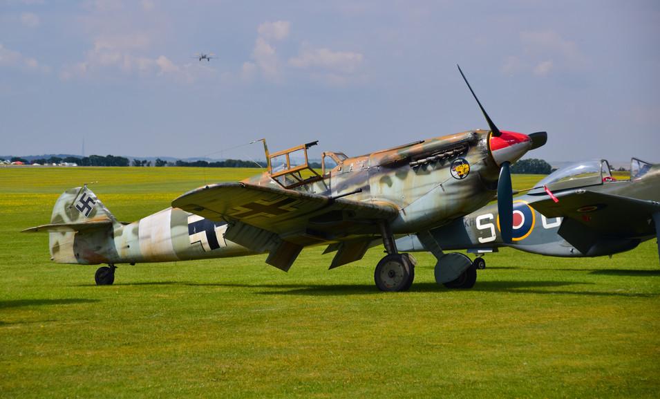Bf109 Hispano Buchon (G-AWHK) (9268)