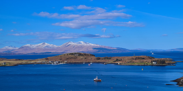 Mull, from Oban (4455a)